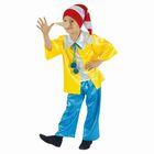 """Карнавальный костюм """"Буратино"""", рубашка, штаны, колпак, нос, р-р 56, рост 98-104 см"""