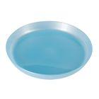 Тарелка детская, диаметр 18,5 см, объём 450 мл, цвет голубой перламутр
