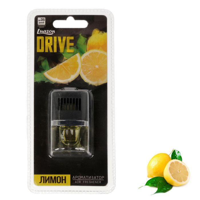 "Ароматизатор в дефлектор ""Drive"", лимон"