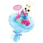 """Набор для создания букета из игрушек и цветов """"Зайчик"""""""