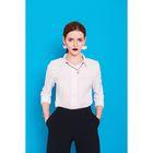 Рубашка женская классическая, размер 56, рост 164 см, цвет белый