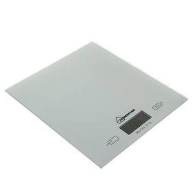 Kitchen scales HOMESTAR HS-3006, electronic, up to 5 kg, silver.