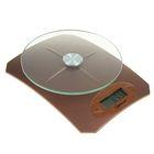 Весы кухонные HOMESTAR HS-3002, электронные, до 5 кг, коричневые