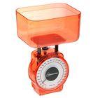 Весы кухонные механические HOMESTAR HS-3004М, до 1 кг, чаша 0.5 л, красные