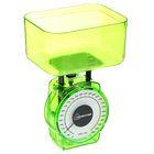Весы кухонные механические HOMESTAR HS-3004М, до 1 кг, чаша 0.5 л, зеленые