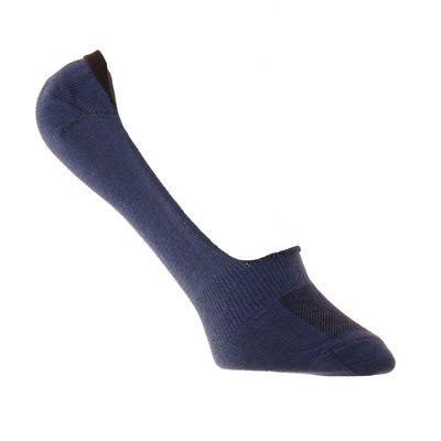 Носки-невидимки спортивные А114п, цвет джинсовый, р-р 22-24