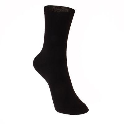Носки детские, цвет чёрный, размер 22-24