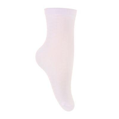 Носки детские, цвет белый, размер 22-24