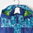 Курточка детская, рост 116 см, цвет синий/голубой - фото 105561118