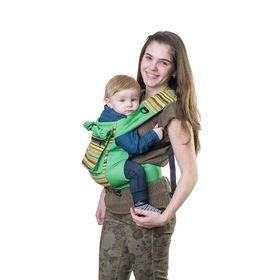 """Слинг-рюкзак """"Уичоли"""", цвет зелёный СРЧ01-005"""