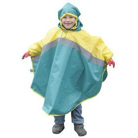 """Дождевик """"Светлячок"""", рост 86-92 см, цвет зелёно-жёлтый NAC09-086"""