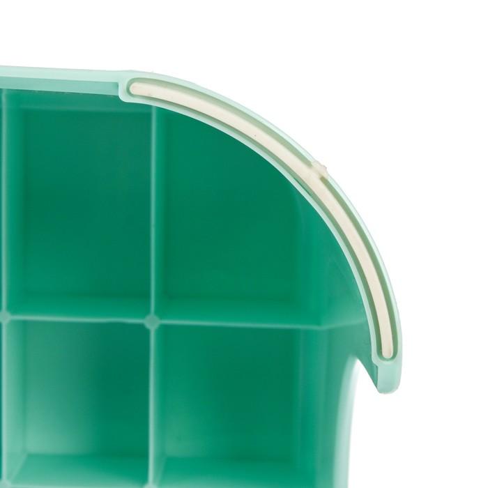 Детский табурет-подставка с рельефной поверхностью, цвета МИКС