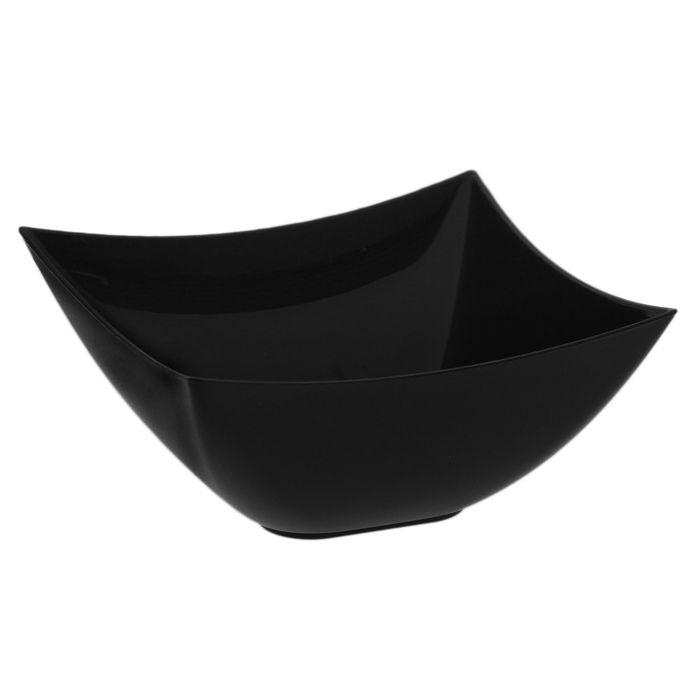 Форма для фуршетов 90 мл Square, 7х7 см, цвет чёрный, набор 25 шт
