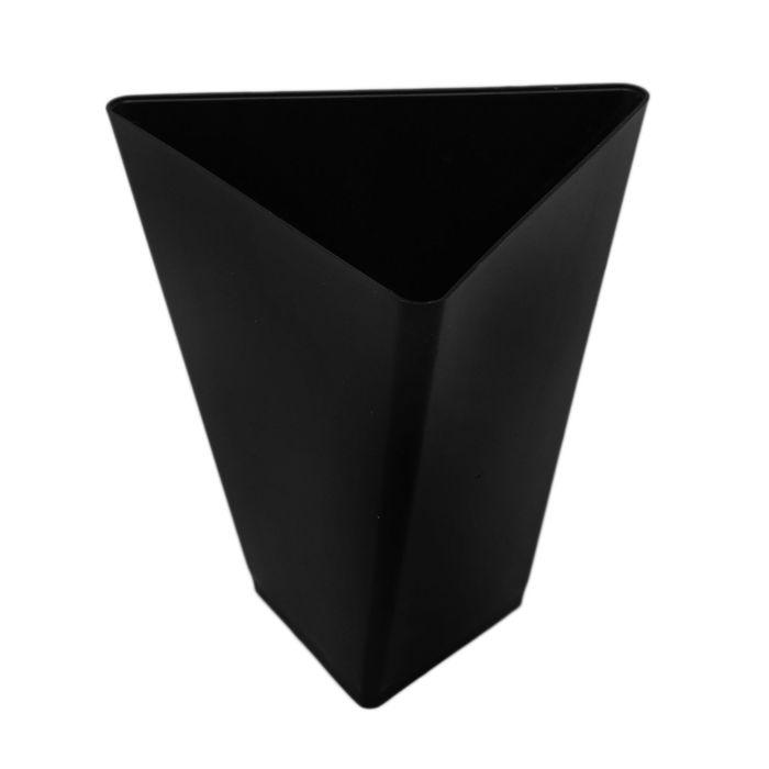 Форма для фуршетов 70 мл Triangle, 6,7х6,7 см, цвет чёрный, набор 25 шт