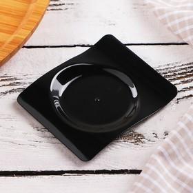 Форма для фуршетов 10 мл Forma, 6,6х8 см, цвет чёрный, набор 50 шт Ош