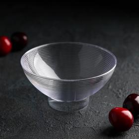 Форма для фуршетов 220 мл Medium Bowl, d=11 см, цвет прозрачный, набор 6 шт Ош