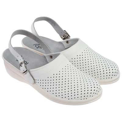 """Туфли-сабо """"Маша"""", женские, размер 40, цвет белый"""