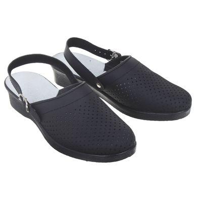"""Туфли-сабо """"Эмануэла"""", женские, размер 39, цвет черный"""