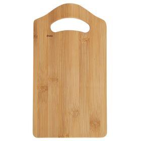 Доска разделочная, бамбук, 27,5×15×1 см