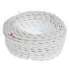 Провод Bironi, 2*1 ,5, витой, белый  1шт-50м