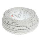 Провод Bironi, 3*1 ,5, витой, белый  1шт-50м