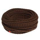 Провод Bironi, 3*2 ,5, витой, коричневый  1шт-50м