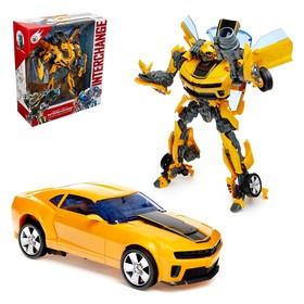 Робот «Автобот», трансформируется, световые и звуковые эффекты, с оружием и ксессуарами