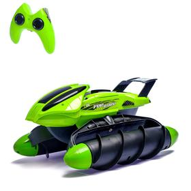 """RC car """"Amphibian"""", with battery, light effects, MIX"""