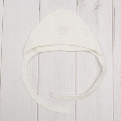 Чепчик, рост 62 см (22), цвет молочный 619Б-361_М