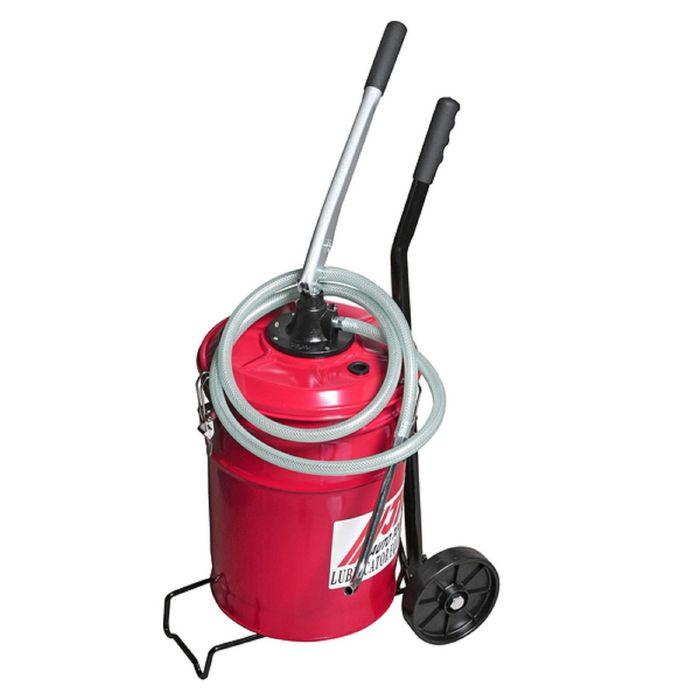 Установка JTC, JTC-1033, для подачи масла, ручная, емкость 20 л