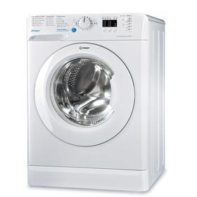 Стиральная машина Indesit BWSA 61051, класс А, 1000 об/мин, 6 кг, белая