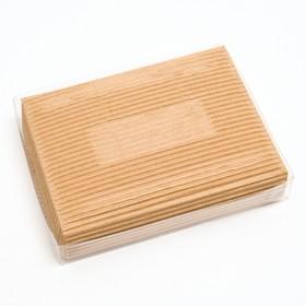 Упаковка для конфет с прозрачной крышкой 14 х 10,5 х 2,5 см