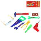 Набор инструментов, с дрелью, 9 элементов