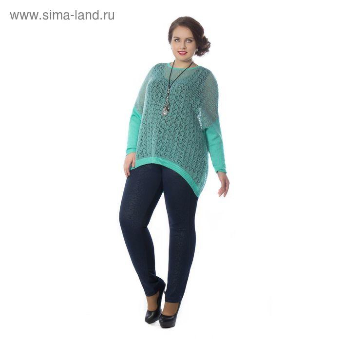 Туника женская, размер 52, цвет зелёный Др5-80/1