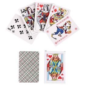 """Карты игральные бумажные """"Король"""", 54 шт., 8,8×5,7 см, в Донецке"""
