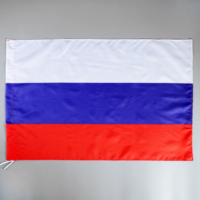 Флаг России 60 × 90 см, в пакете