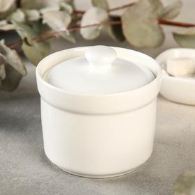 Bouillon cup with a lid 250 ml, 10 cm.