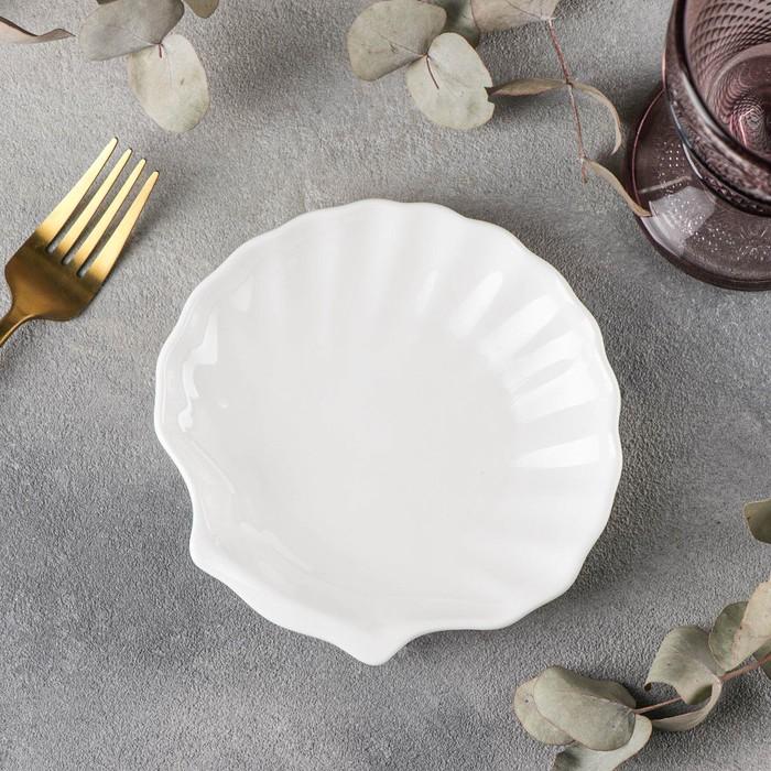 Блюдо-ракушка Wilmax Shelley, d=15 см - фото 308066790