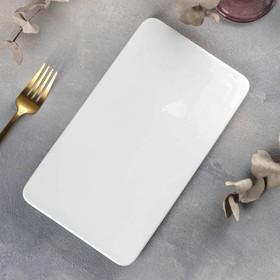 Блюдо плоское 25,5×14,5 см