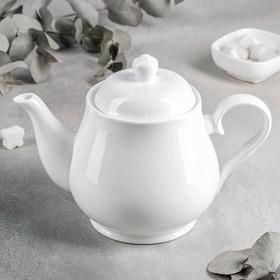 Чайник заварочный, 1,15 л, цвет белый