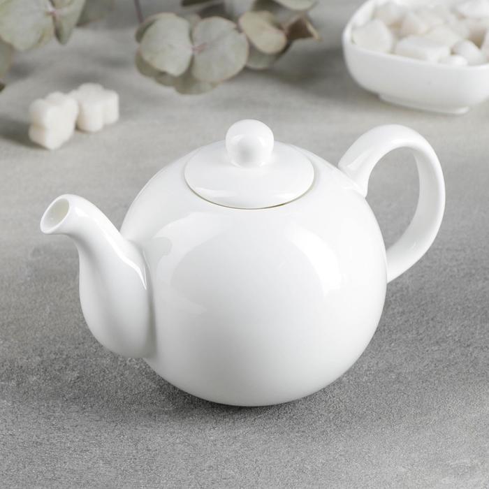 Чайник заварочный Wilmax Olivia «Классика», 500 мл, цвет белый - фото 308067450