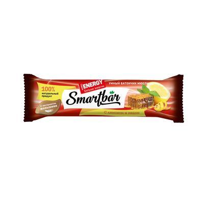 Батончик SmartBar Energy 25г лимон и мед