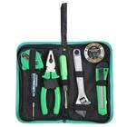 Tool kit TUNDRA basic, universal, 7 pieces, case-folder
