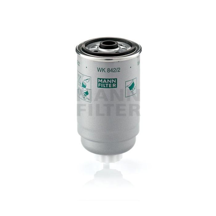 Фильтр топливный MANN-FILTER WK842/2(10)