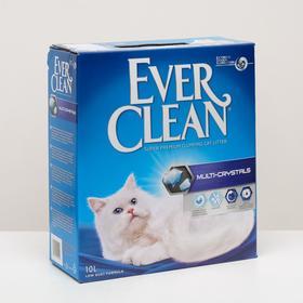 Наполнитель комкующийся Ever Clean Multi Crystals с мультикристаллами, 10 л