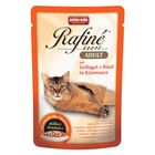 Влажный корм Animonda RAFINE SOUPE ADULT для кошек, птица/говядина в сырном соусе, 100 г
