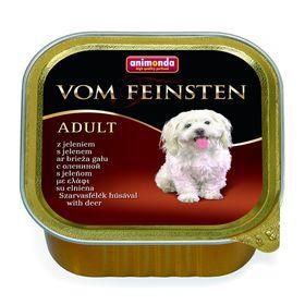 Влажный корм Animonda  VOM FEINSTEN ADULT для взрослых собак, оленина, ламистер, 150 г