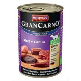 Влажный корм Animonda Gran Carno Original Adult для собак, говядина/ягнёнок, 400 г