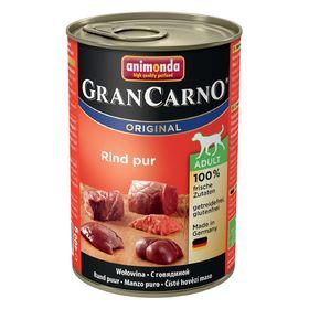 Влажный корм Animonda Gran Carno Original Adult для собак, с говядиной, ж/б, 400 г