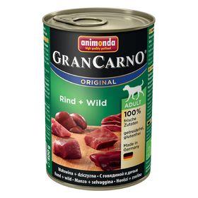 Влажный корм Animonda Gran Carno Original Adult для собак, говядина/дичь, ж/б, 400 г   194419
